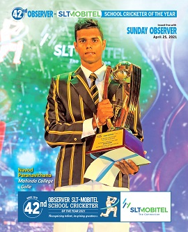 Observer-Mobitel School Cricketer of the Year Awards 2020 Special Supplement