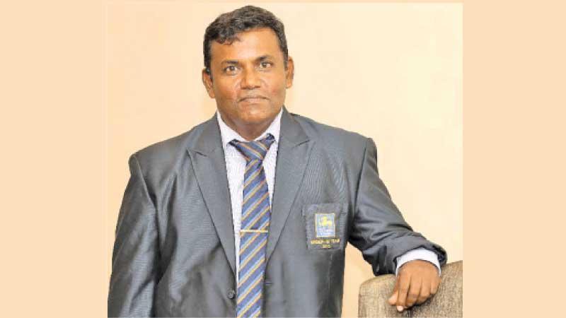 Secretary of the Sri Lanka Schools Cricket Association (SLCSA) JAKS Indrajith