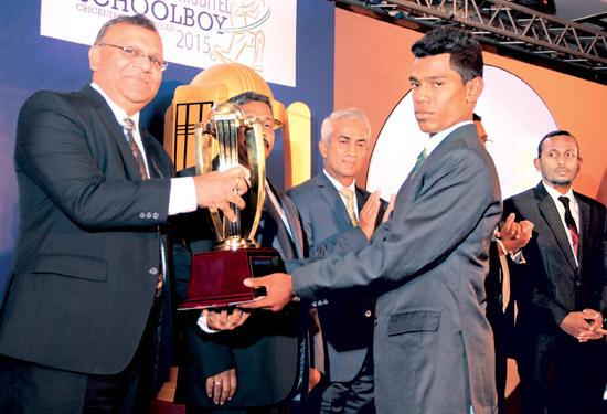 Best batsman Gold; Pathum Nissanka Kalutara MV