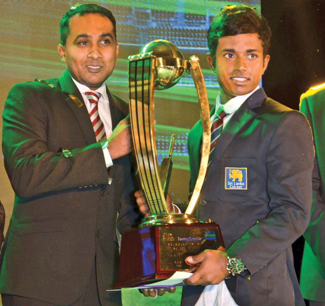 Charith Asalanka of Richmond College Galle