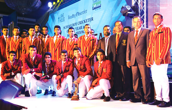 Ananda College Colombo, Best School Team Western Province