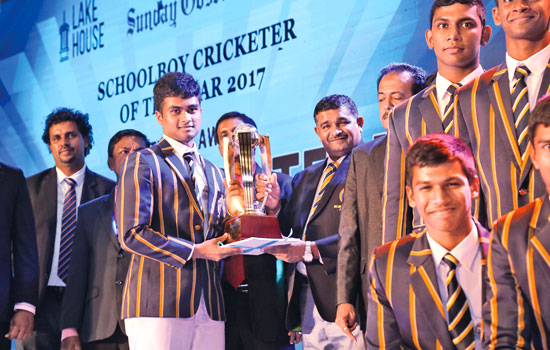 Best School Team National Award Runner up St. Peter's College, Colombo