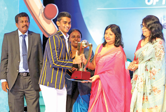 Most Popular Schoolboy Runner-Up - Royal's Pasindu Sooriyabandara