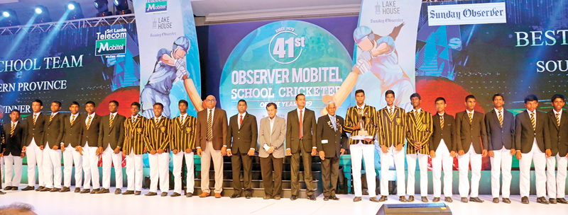 Best Schools team Southern Province – Mahinda College, Galle