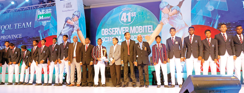 Best Schools team Central Province - St. Anthony's College, Kandy
