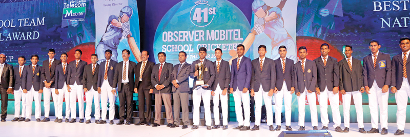 Best National School Team Runner-up - Thurstan College, Colombo