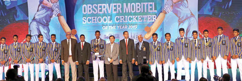 Best School Team North Western Province Runner-up - St. Anne's College Kurunegala