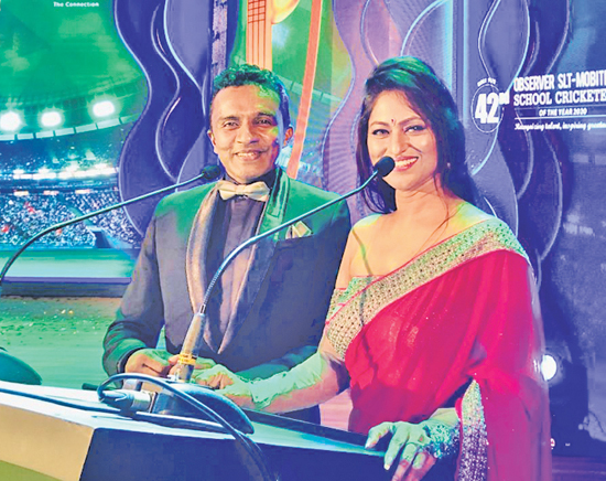 The show presenters Sonali Perera and Clifford Richards