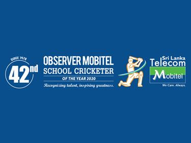 42nd Observer-Mobitel School Cricketer of the Year